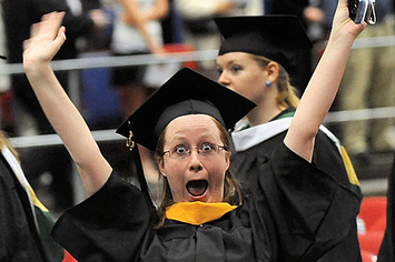 what it feels like to be graduating from college