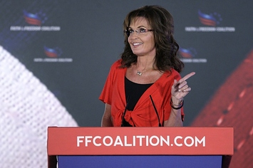 """Sarah Palin On Syria: """"Let Allah Sort It Out"""""""