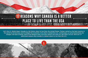 In what ways is the USA a better place to live in than Canada?