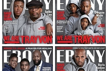 #WhitePeopleBoycottingEBONY Blows Up On Twitter After Magazine's Trayvon Martin-Inspired Covers