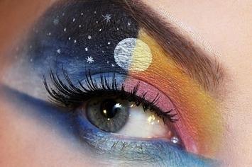 solar system eye shadow - photo #18