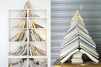 38 fabulous diy christmas trees that arent actual trees - Big Indoor Christmas Decorations