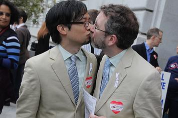 gay men in thongs