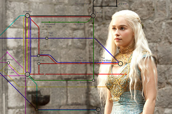 Game Of Thrones Subway Map.If Game Of Thrones Was A Subway Map