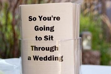 25 Ways To Make Your Wedding Funnier