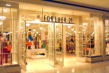 18 items currently at forever 21 no one will buy
