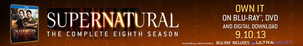 Supernatural Season 8 on Blu-ray and DVD