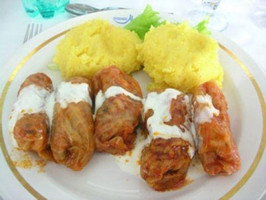 Christmas Dinner In Romania