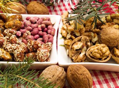 Christmas Dinner In Bulgaria