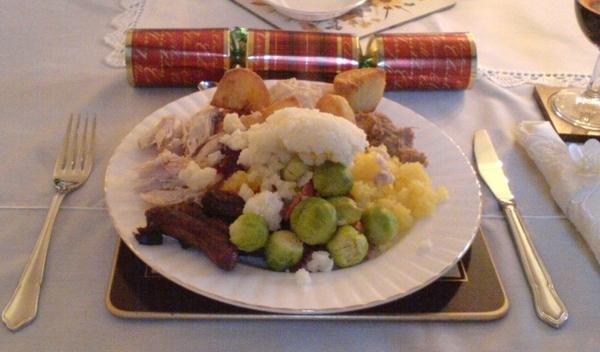 Christmas Dinner In Scotland