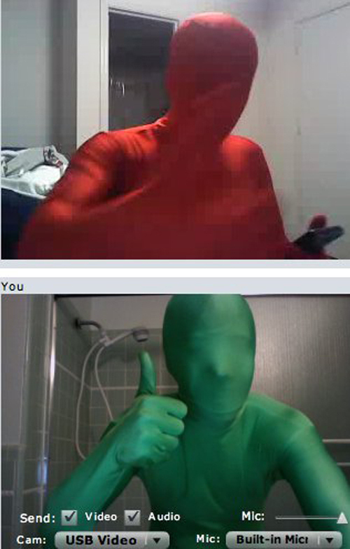 Red meets Green