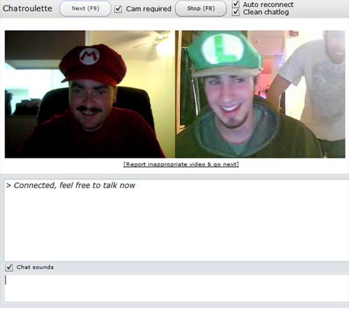 Mario Meets Luigi