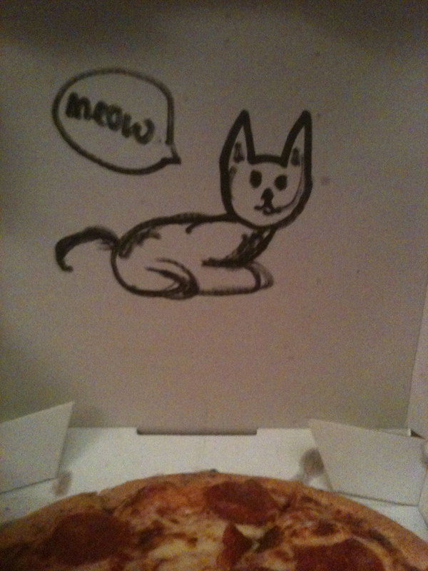 """Draw A Cat On The Box"" (The Cruddy Version)"