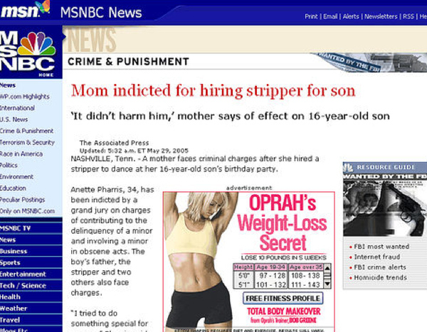 101 Really Unfortunate Internet Ad Placements