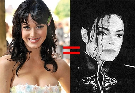 Katy Perry holds the same record as Michael Jackson for most number one singles from an album