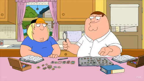 Peter And Chris Griffin