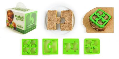 Sandwich Puzzle Cutters