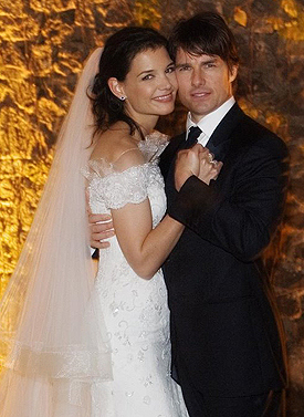 8.Tom Cruise And Katie Holmes