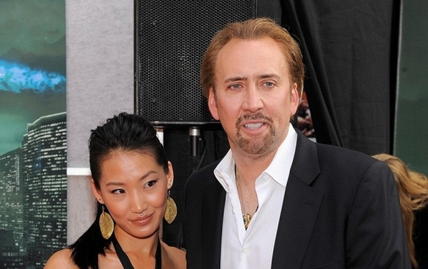 4. Alice Kim And Nicolas Cage - (20 Year Difference)