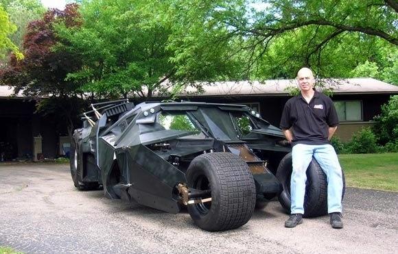 Perhaps A Batman Tumbler?
