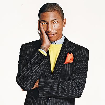 6. Pharrell Williams