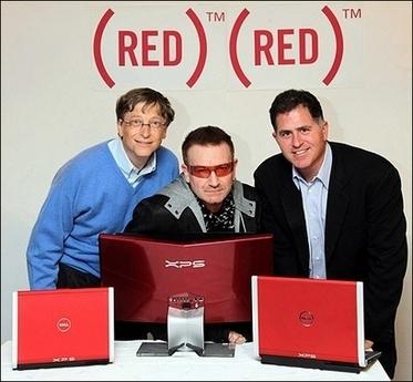 """Bono's """"RED"""" Charity Campaign"""