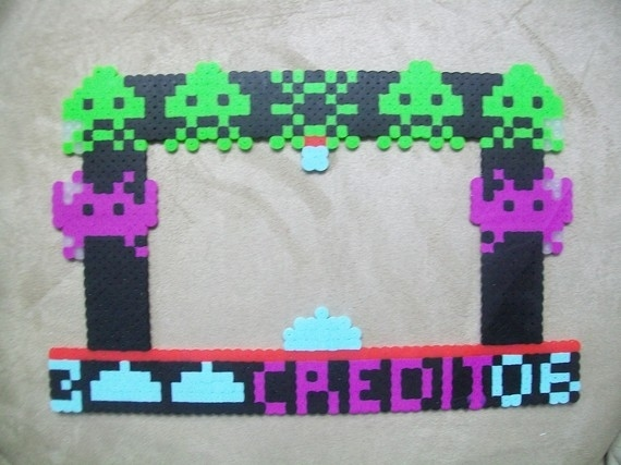 9 Awesome Perler Bead Picture Frames