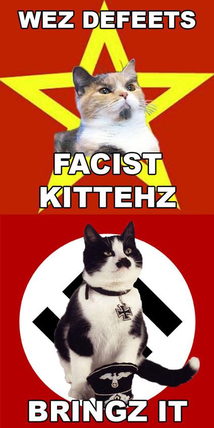 Lenin Cat Approves Meme
