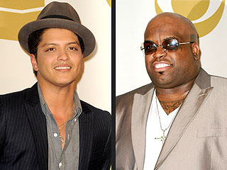 """7. Cee Lo Green and Bruno Mars wrote """"Fuck You"""" in two hours total."""