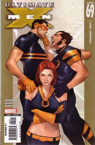 The Love Triangle between Cyclops, Wolverine, and Jean Grey