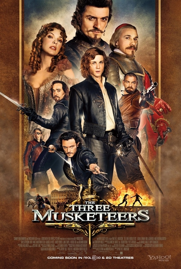 The Three Musketeers (October 14, 2011)
