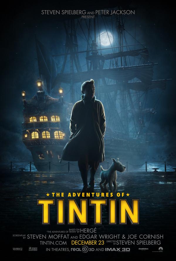 The Adventures of Tintin: The Secret of the Unicorn (December 23, 2011)