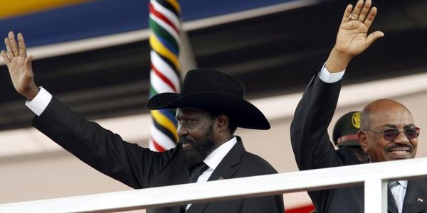 South Sudan's first president, Salva Kiir Mayardit, is sworn in