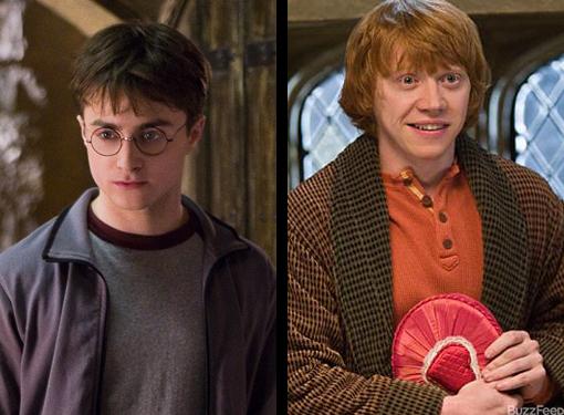 Harry/Ron
