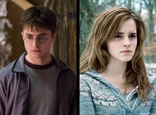 And of course, Harry/Hermione