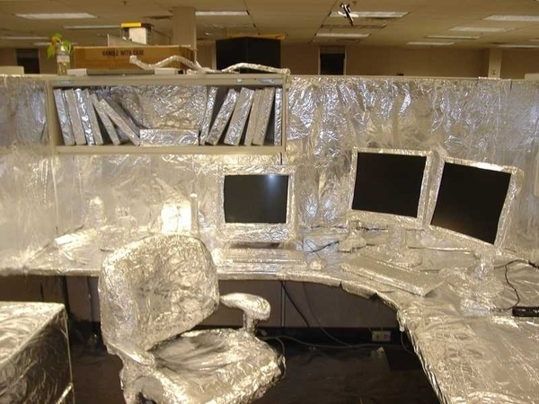 Pranking their fellow co-workers