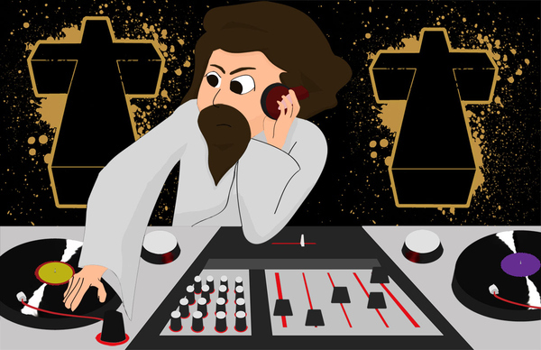 DJ Jesus won't rest until you're cured of your lack of fresh beats