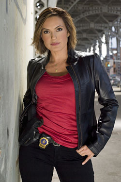 Mariska Hargitay as Olivia Benson on Law & Order: Special Victims Unit