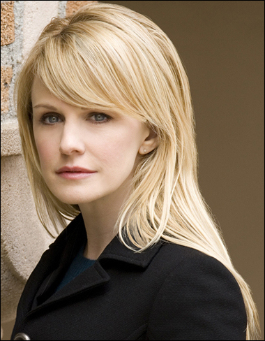 Kathryn Morris as Det. Lilly Rush on Cold Case