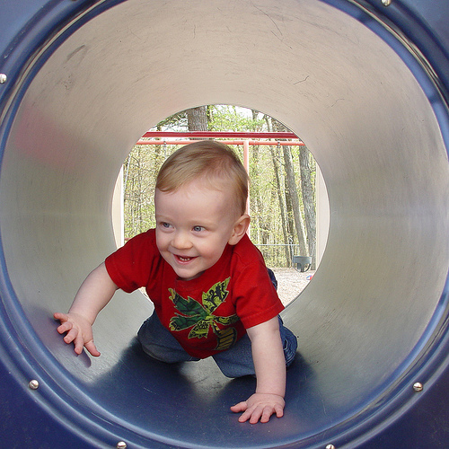 The Tunnel In Playgrounds
