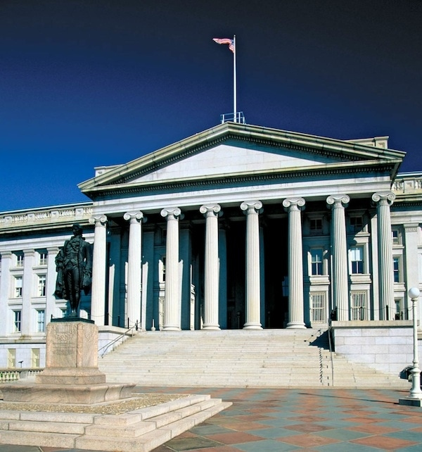 2. U.S. Treasury : $1.63 trillion (11.3%)