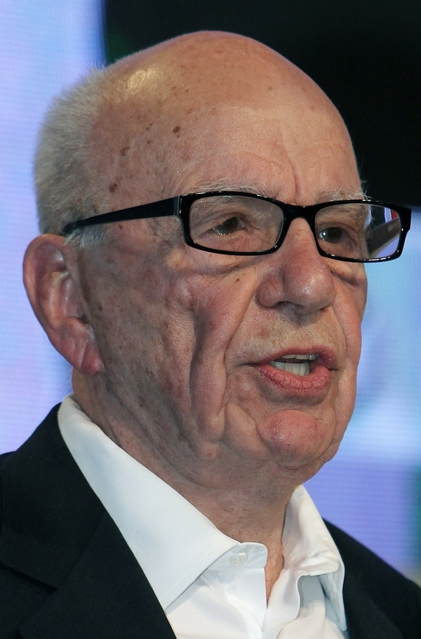 In this May 24, 2011 file photo, media magnate Rupert Murdoch speaks during the e-G8 conference, ...