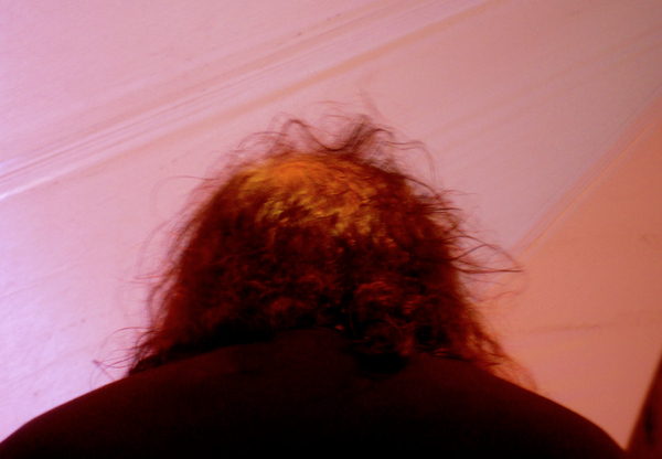 The back of Ron Jeremy's head is gross.