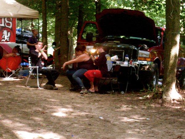 You can get a Juggalo tattoo in the middle of the woods.