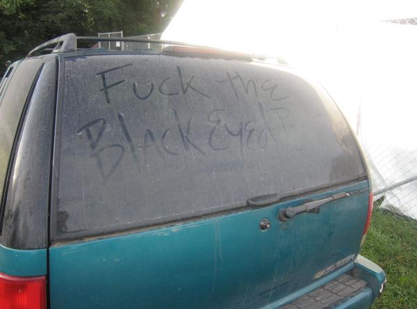 Juggalos do not like The Black Eyed Peas.