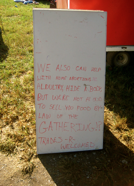 You can get also get a Juggalo abortion in the middle of the woods.