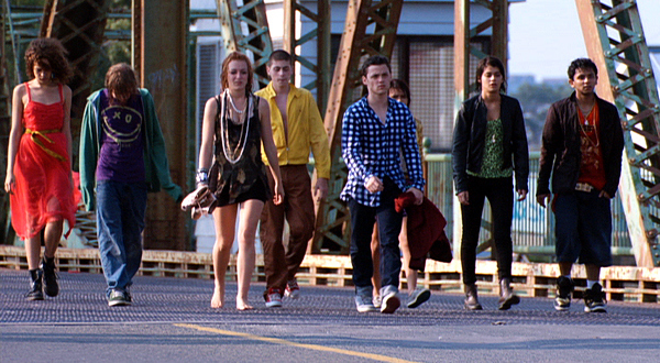 "The ""Skins"" cast walk of shame"