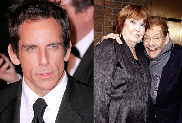 Ben Stiller / Anne Meara and Jerry Stiller