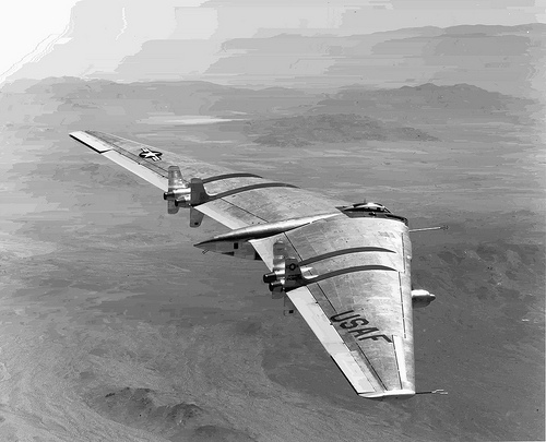 Experimental jet test pilot