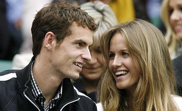 Kim Sears, girlfriend to Andy Murray